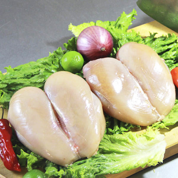 pechuga de pollo retocada